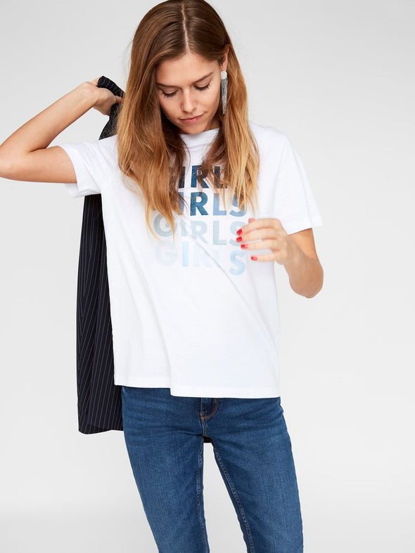 Camiseta Girls blanca