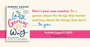 Book Review: The Lazy Genius Way by Kendra Adachi