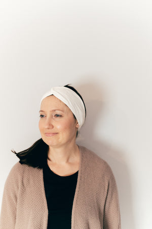 Luxe Headband ~ for masking + cleansing