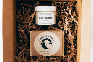 Body Butter + Bar Soap Gift Set
