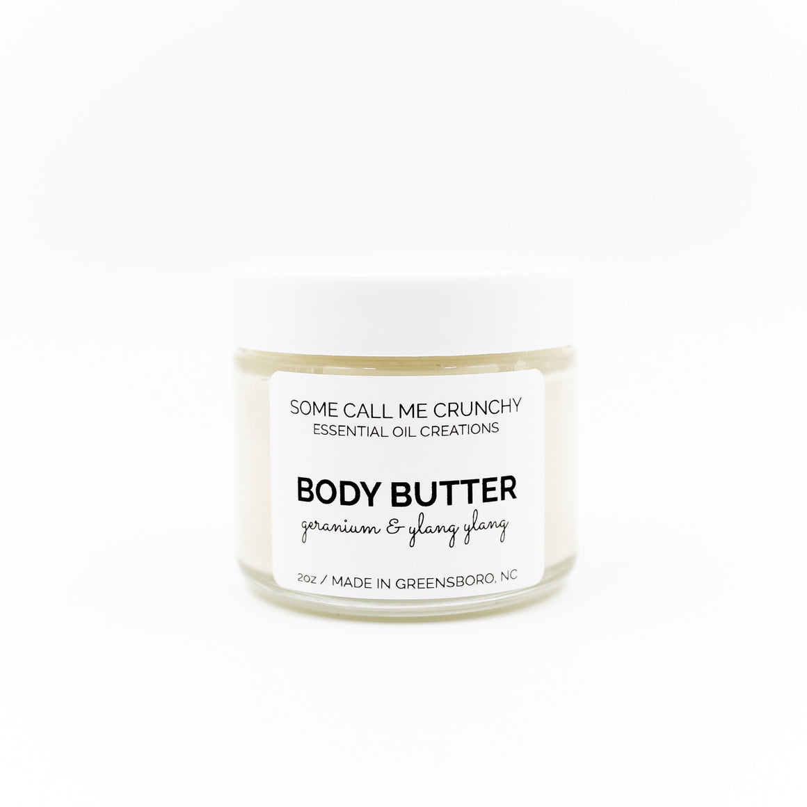 Body Butter with Shea Butter and Almond Oil ~ 3 scents available