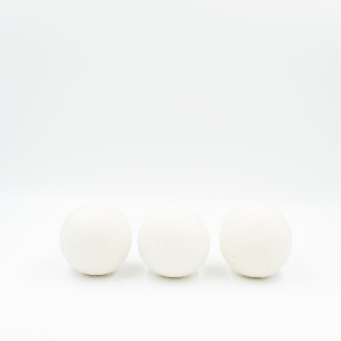 Handmade Wool Dryer Balls (Set of 3)
