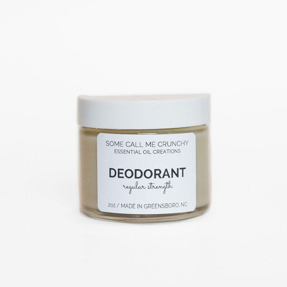 Aluminum Free Natural Deodorant ~ Regular Strength