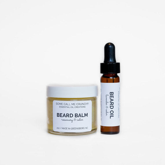 Beard Duo ~ Balm & Oil