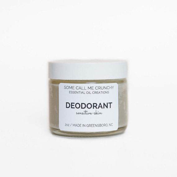 Natural Deodorant for Sensitive Skin, Aluminum Free- 5 Scents Available