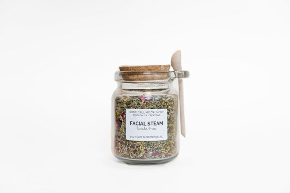 Facial Steam~ Lavender & Rose