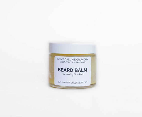Beard Balm, All Natural- Rosemary + Cedar