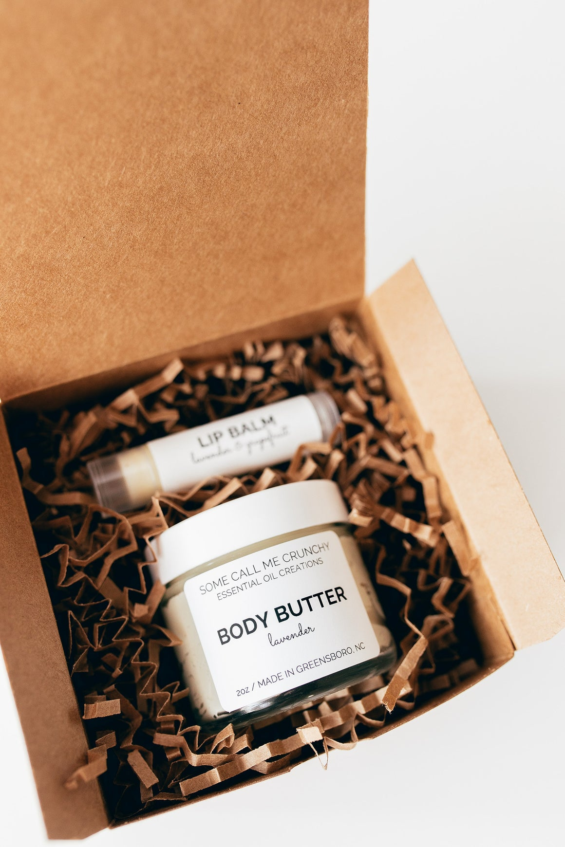 Body Butter & Lip Balm Gift Set