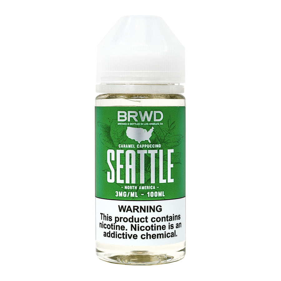 Seattle 100ML By BRWD E-Liquid