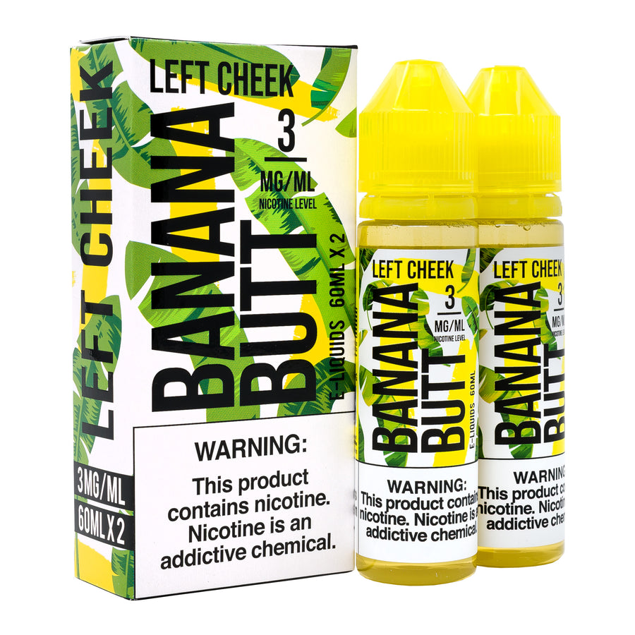 Left Cheek 120ML By Banana Butt E-Liquid - E-Juice - Vape Juice