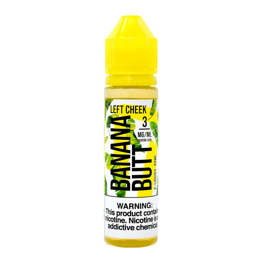 Left Cheek 60ML By Banana Butt E-Liquid