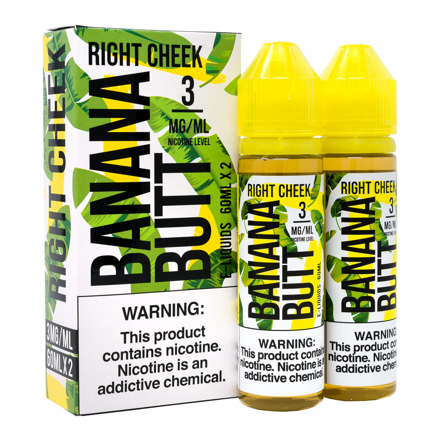 Right Cheek 120ML By Banana Butt E-Liquid