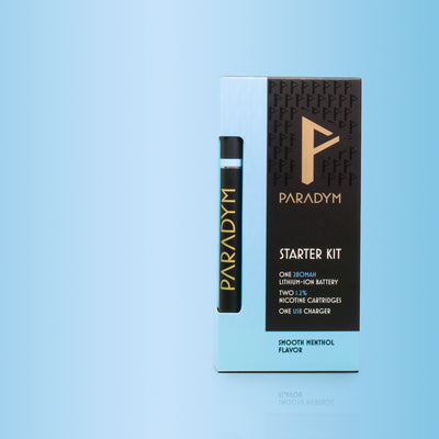 Smooth Menthol Starter Kit (12MG) By Paradym E-Cigs