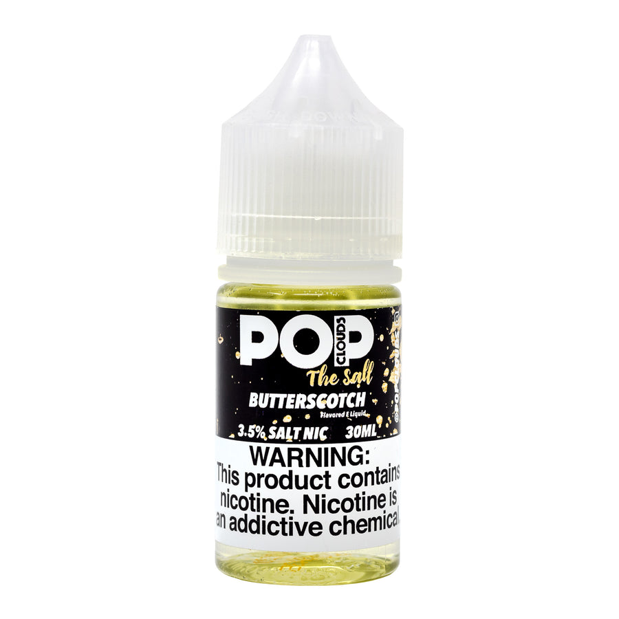 Butterscotch 30ML Nic Salt By Pop Clouds The Salt E-Liquid - E-Juice - Vape Juice
