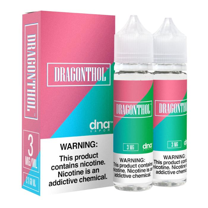 Dragonthol 120ML By DNA Vapor