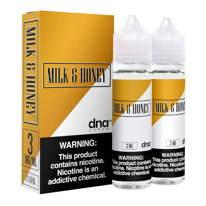 Milk & Honey 120ML By DNA Vapor - E-Juice - Vape Juice