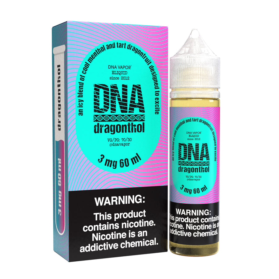 New Dragonthol 120ML By DNA Vapor