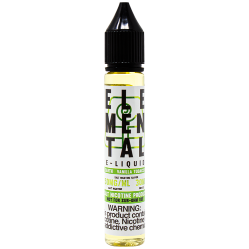 Earth Salt 30ML By Elemental E-Liquid