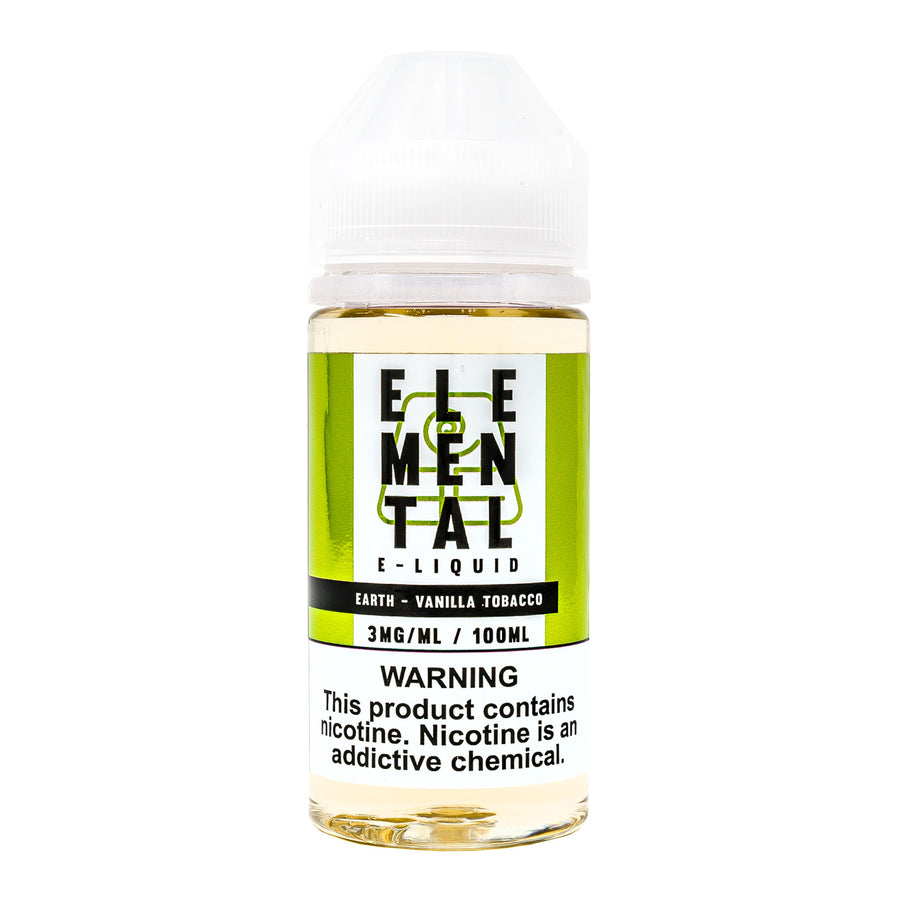 Earth 100ML By Elemental E-Liquid