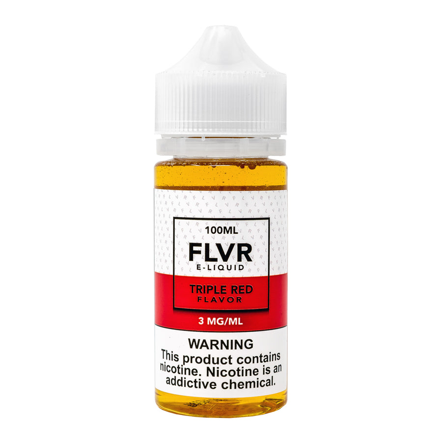 Triple Red 100ML By FLVR E-Liquid