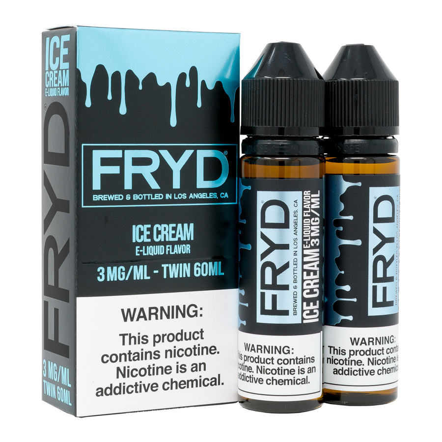 Ice Cream 120ML By FRYD E-Liquid - E-Juice - Vape Juice