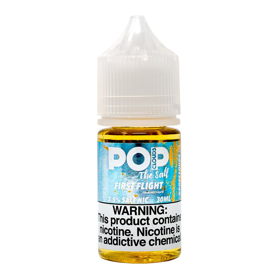 FIRST FLIGHT 30ML NIC SALT BY POP CLOUDS THE SALT E-LIQUID