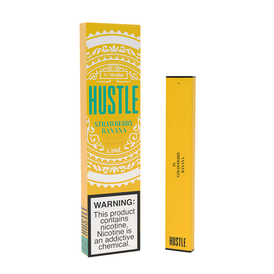 Strawberry Banana Disposable by Hustle