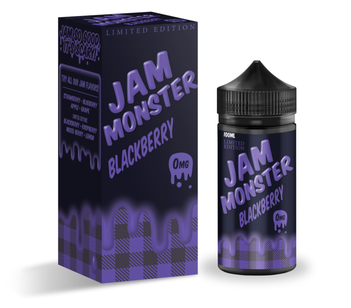 Blackberry 100ML by Jam Monster