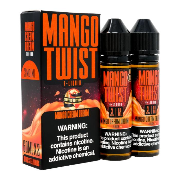Mango Cream Dream 120ML Mango Twist By Twist E-Liquids - E-Juice - Vape Juice