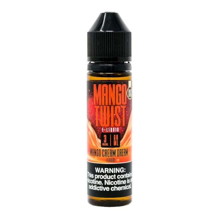 Mango Cream Dream 60ML Mango Twist By Twist E-Liquids - E-Juice - Vape Juice
