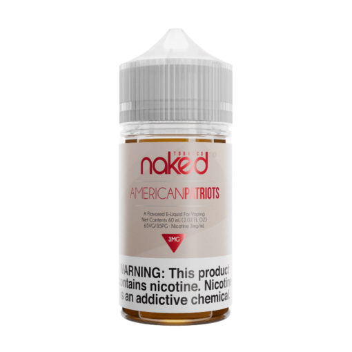American Patriots Tobacco 60ML By Naked 100 E-Liquid