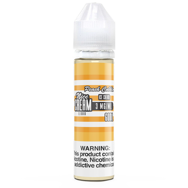 Peach Cobbler Ice Cream 60ML By Nice Cream E-Liquid
