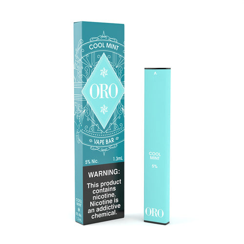 Cool Mint Disposable by ORO Vape Bar