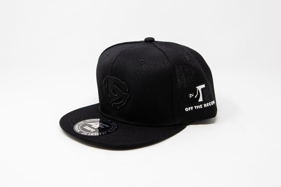 OTR Hat Black on Black