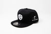 OTR Hat White on Black