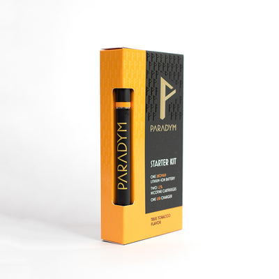 True Tobacco Starter Kit (12MG) By Paradym E-Cigs