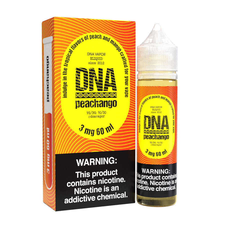 Peachango  60ML By DNA Vapor