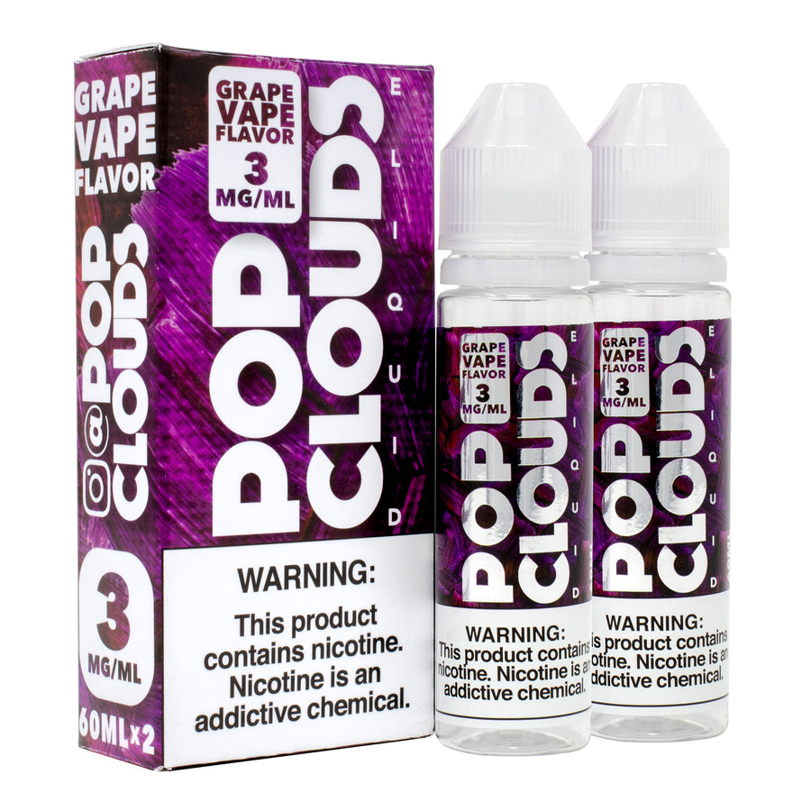 Grape 120ML By Pop Clouds E-Liquid