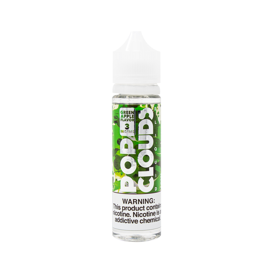 Green Apple 60ML By Pop Clouds E-Liquid