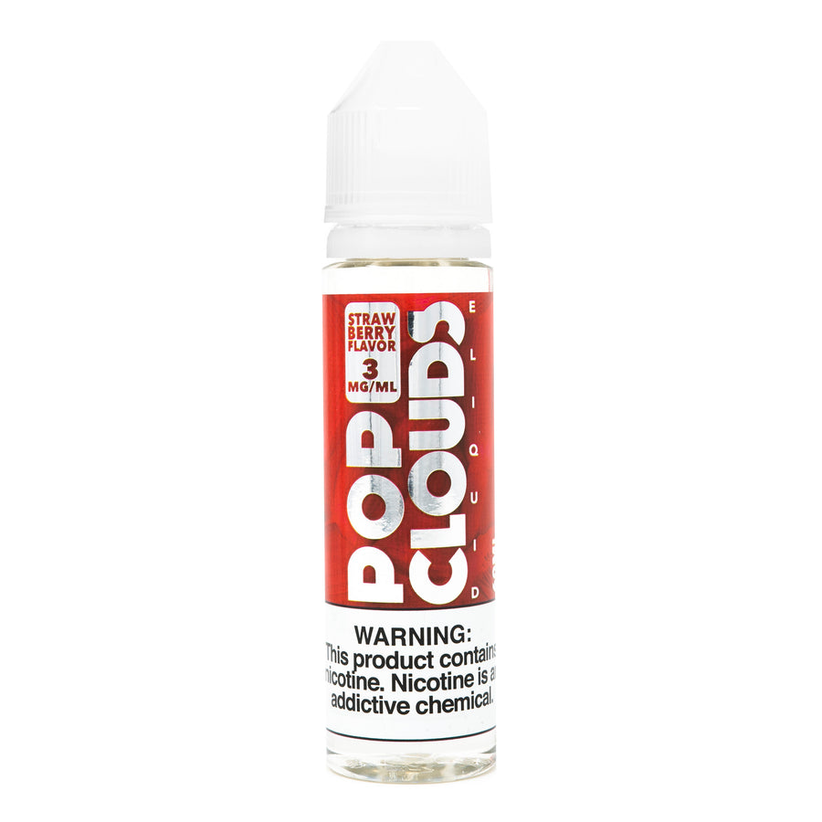 Strawberry By Pop Clouds E-Liquid