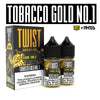 Tobacco Gold No. 1 60ML Nic Salt By Twist Salt E-Liquids