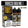 Tobacco Gold No.1 120ML By Twist E-Liquids
