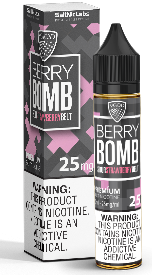 Iced Berry Bomb Salt By VGod