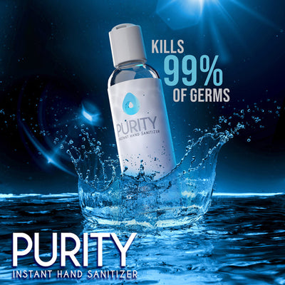 Spend $20 and get Purity hand sanitizer
