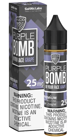 Purple Bomb Salt By VGod