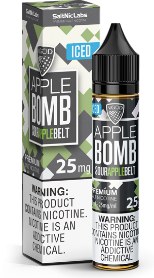 Iced Apple Bomb Salt By VGod