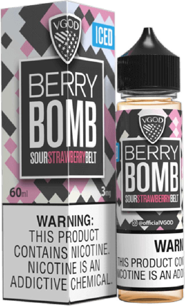 Iced Berry Bomb 60ML By VGod