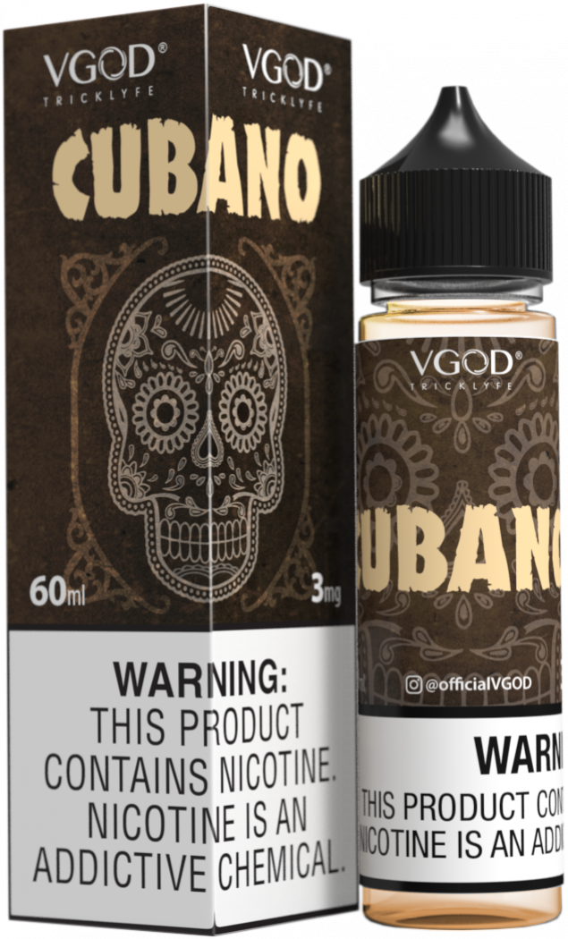 Cubano 60ML By VGod