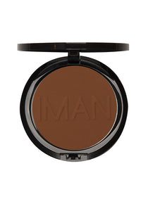 Luxury Pressed Powder, Makeup, Iman Cosmetics, Impala Inc  - IMAN Cosmetics