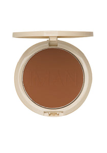 Oil-Blotting Pressed Powder, Makeup, Iman Cosmetics, IMAN Cosmetics - IMAN Cosmetics